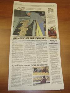 Gold Dust and Walker Brothers Featured on Page A9 of November 7th, 2010 Herald and News