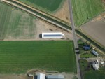 The McVay Potato Cellar Solar Station from above