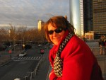 Tricia Hill at the Staten Island Ferry dock.