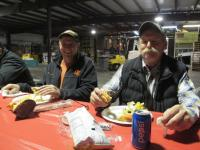 Gold Dust growers George Rajnus and Matt Huffman joined Gold Dust and Walker Brothers at the annual Christmas luncheon.