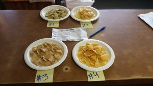 Gold Dust tested Lays' 2015 Do Us A Flavor suggestions.