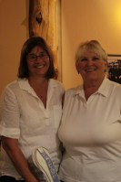Dianne Spires won Women's Long Drive and Jan Walker won Women's KP at Gold Dust's 2015 Open House Field Day Golf Scramble.