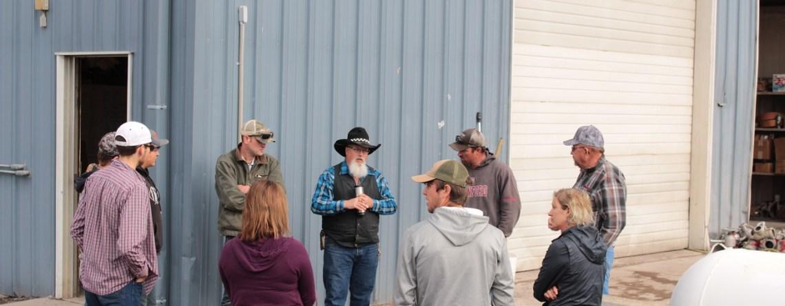 KCC Ag Marketing Class Visits Gold Dust & Walker Farms!