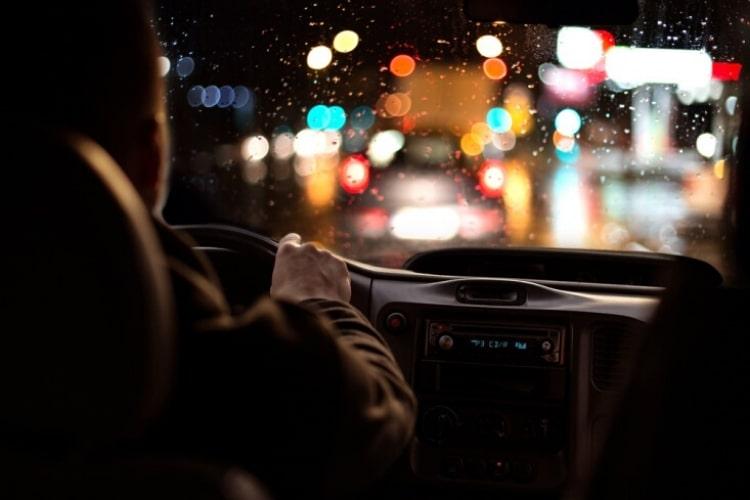 авто ночью