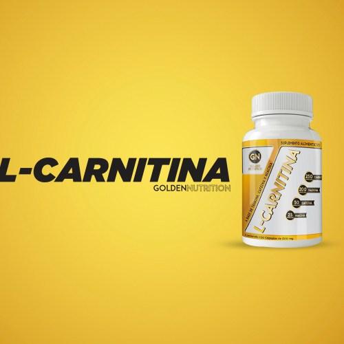 GOLDEN NUTRITION - L CARNITINA