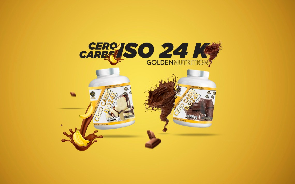 GOLDEN NUTRITION - GOLDEN CARBS ISO24K