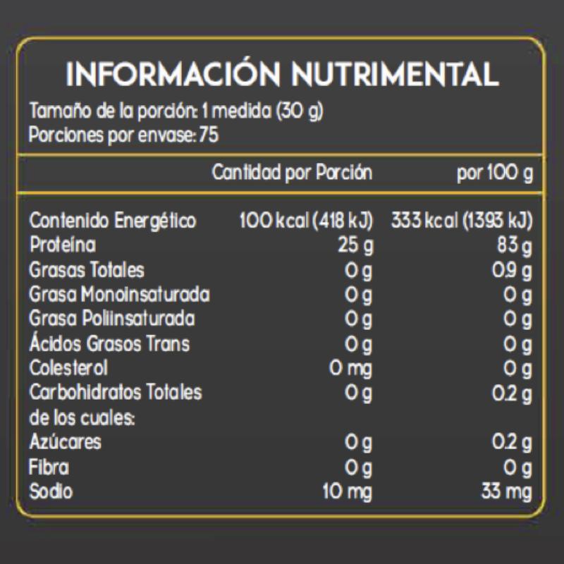 GOLDEN NUTRITION - GOLDEN CARBS ISO24K