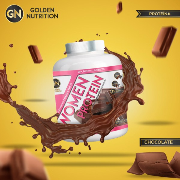 GOLDEN NUTRITION - WOMEN PROTEIN