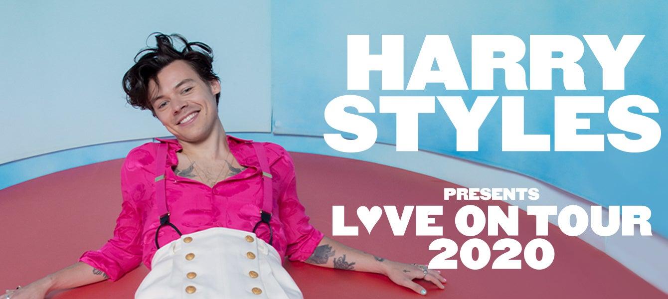 harry styles announces 2020 world tour