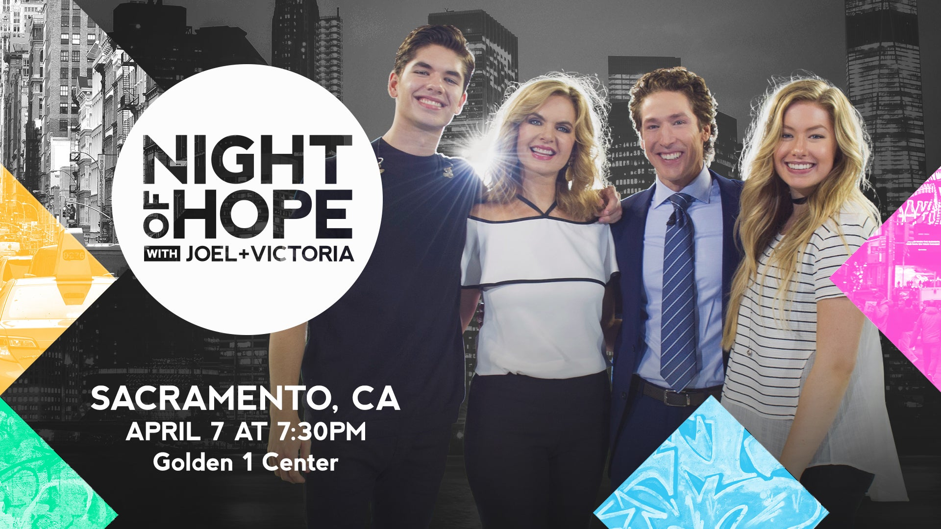 Night Of Hope With Joel Victoria Golden1Center