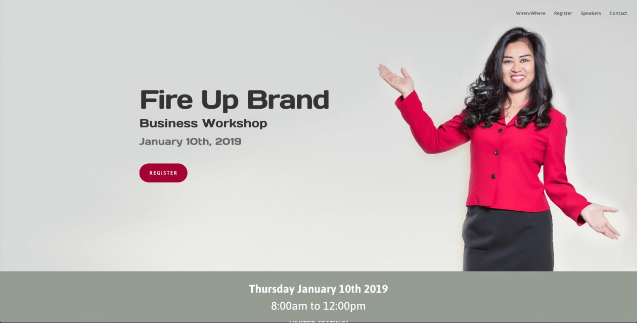 Fire Up Brand Seminar