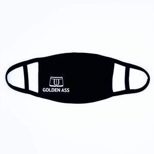 Golden Ass mondkapje zwart