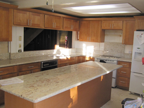 Golden Cabinets & Stone Inc. on Natural Maple Maple Cabinets With Quartz Countertops  id=66458