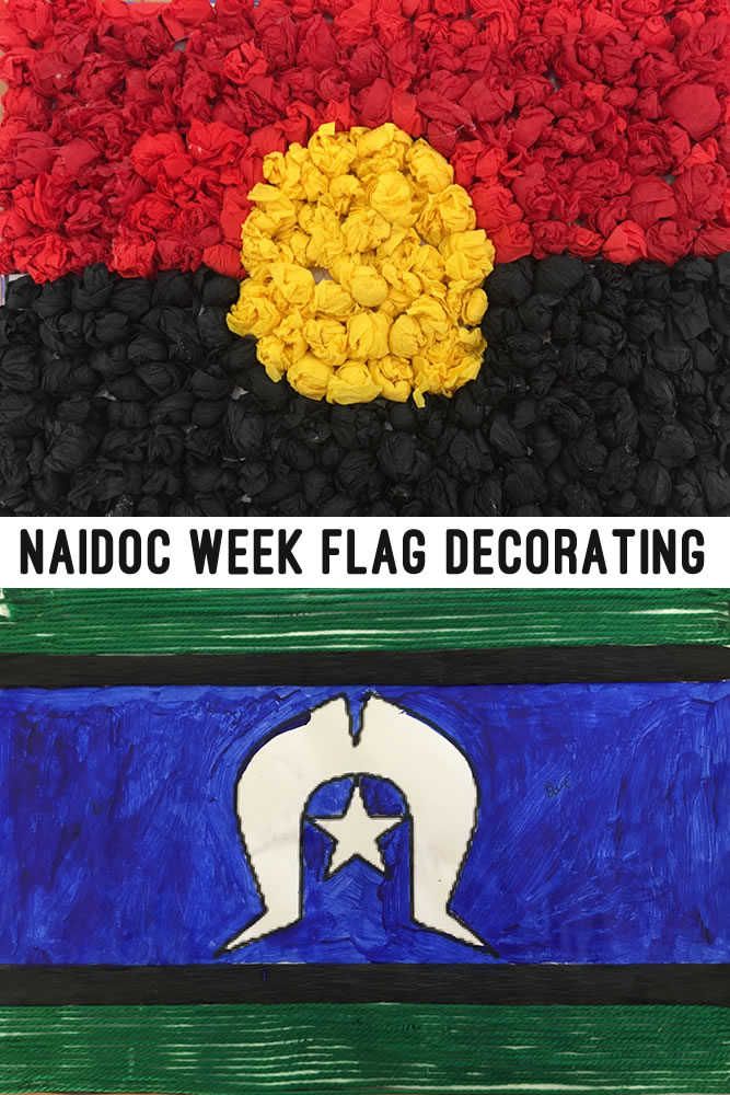Astronaut images / getty images you may well have a general decorating style chosen for your entire. NAIDOC Week Flag Decorating