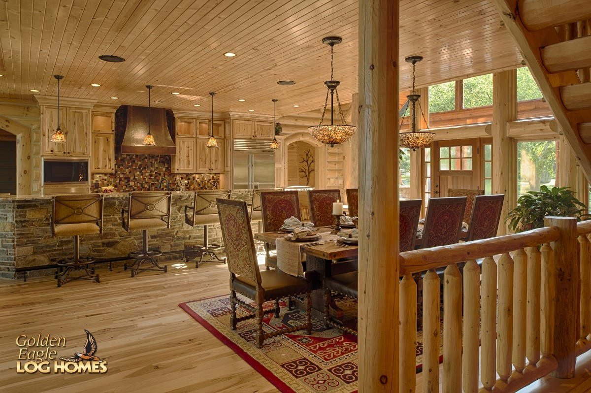 Golden Eagle Log And Timber Homes Log Home Cabin Pictures Photos Lakehouse 4166AL