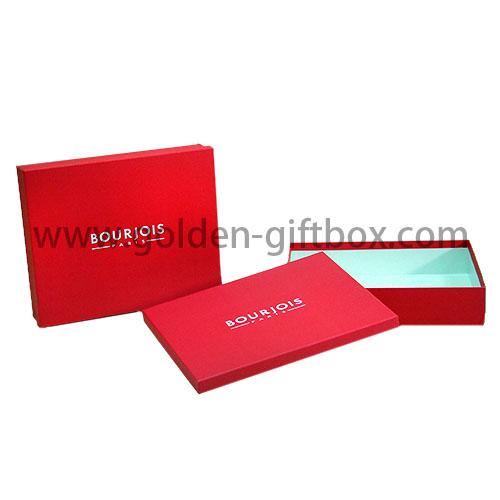 禮品折疊盒折疊禮品盒摺疊盒香水盒配磁石開關及膠手挽-金譽印刷有限公司