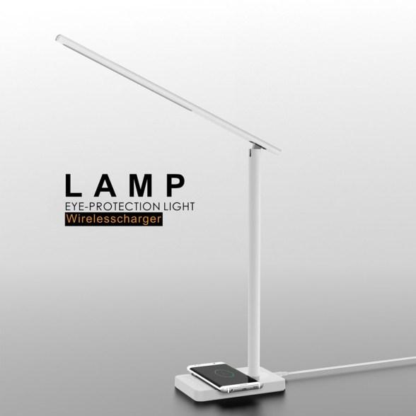 Lámpara LED / Cargador inalámbrico