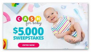 Parents.com - Cash for Baby $5,000 Sweepstakes