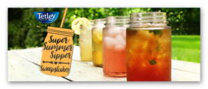 Tetley Tea Summer Sipper Sweepstakes