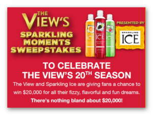 The View's Sparkling Moments Sweepstakes
