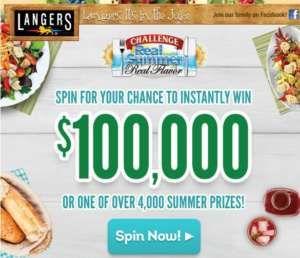 Challenge Butter Real Summer Real Flavor Instant Win Game