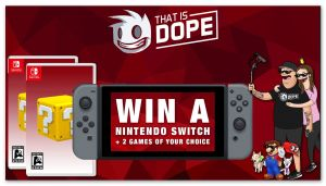 Win a Nintendo Switch + 2 Games of Your Choice