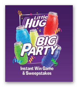 Little Hug Big Party Instant Win Sweepstakes - Ends August