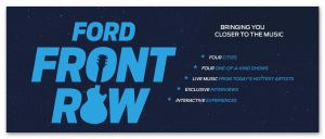 Ford Front Row Sweepstakes