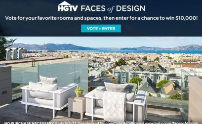 HGTV Faces of Design – Vote for a chance to win $10,000
