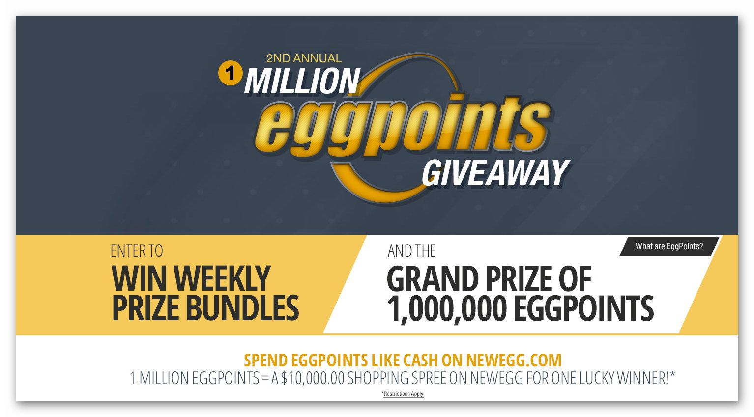 Newegg sweepstakes winner