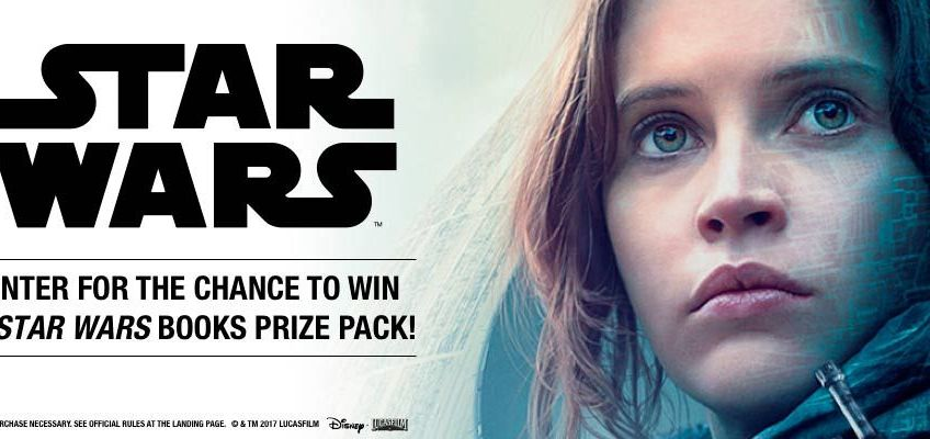 Star Wars Books Prize Pack Sweepstakes