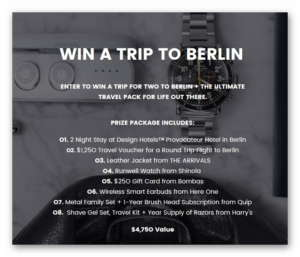 Escape the Heat , Out There - Win a trip for two to Berlin