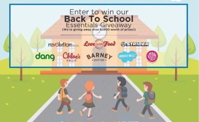 Win Back-To-School Essentials To Kick Off The School Year