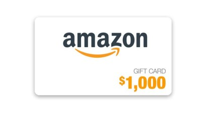 Ellen Degeneres - $1,000 Amazon Gift Card Giveaway