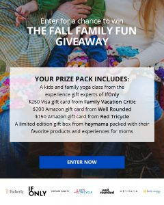 Fall Family Fun Giveaway