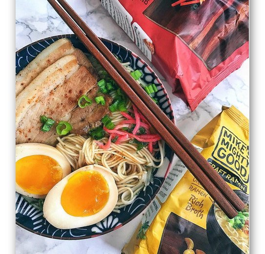 Win 2 Cases of Mike's Mighty Good Ramen