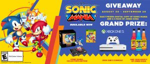 Jones Soda Sonic Mania Giveaway