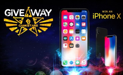 Gankstars- Win an iPhone X