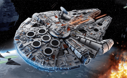 Gleam's LEGO® Star Wars Millennium Falcon Giveaway
