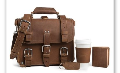 Win a Saddleback Leather Small Briefcase Bundle