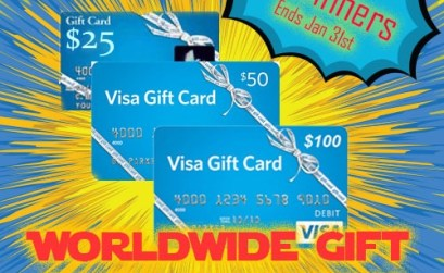 Worldwide Visa Gift Card Giveaway