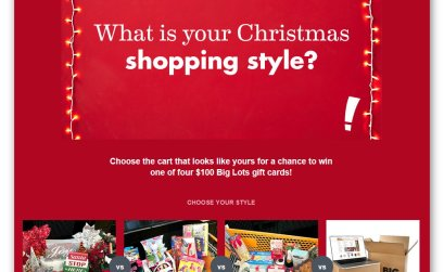 Big Lots Christmas Sweepstakes