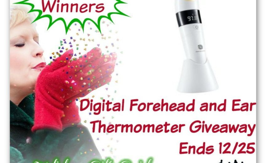 Win a Digital Forehead and Ear Thermometer