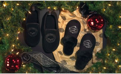 Harley Davidson 12 Days of Slippers Sweepstakes