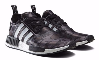 Win $650 limited edition 'Adidas x Bape Black Camo NMD
