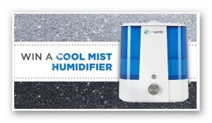 Win a Ultrasonic Cool Mist Humidifier