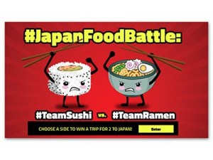 Japan Food Battle Win A Trip For 2 To Japan Ends March 22nd