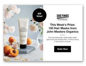 John Masters Hair Masks Giveaway