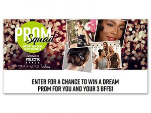 Prom Squad Instant Win and Dream Prom Sweepstakes