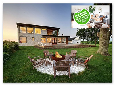 Bob Vila's $3,000 Home Design Giveaway